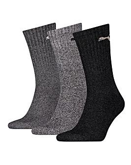 3 Pair Puma Sport Crew Socks
