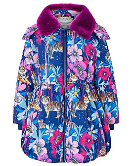 Monsoon Tamara Tiger Padded Coat