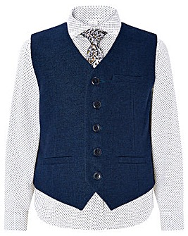 Monsoon Hudson 3 Pc Waistcoat Set