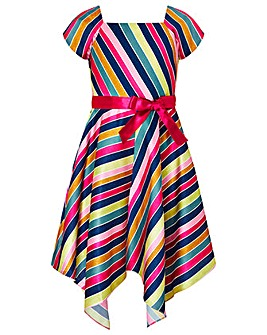 Monsoon Julianne Stripe Dress