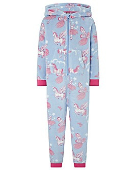 Monsoon Vivianna Unicorn Sleepsuit