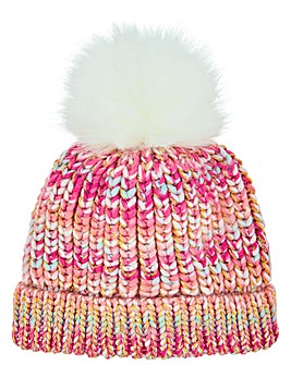 Monsoon Sabrina Space Dye Bobble Hat