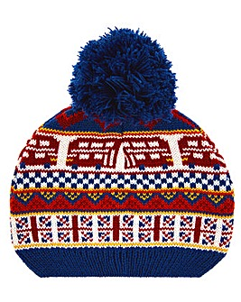 Monsoon London Novlety Bobble Hat