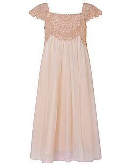 Monsoon Estella Sparkle Dress