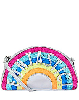 Accessorize Funtastic Rainbow Bag