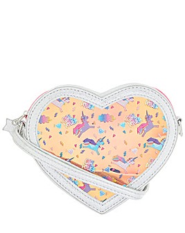 Accessorize Heart Hero Unicorn Bag
