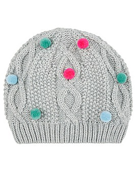 Accessorize Multi Mini Pom Pom Beanie