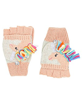 Accessorize Unicorn Rainbow Mitten