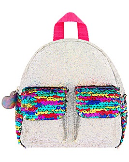 Accessorize Sequin Pocket Backpack
