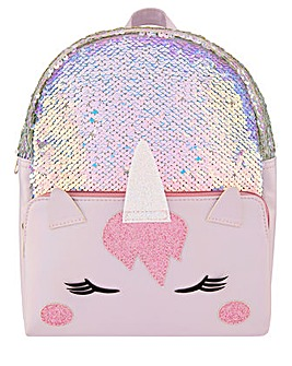 Monsoon Amazing Amena Unicorn Back Pack