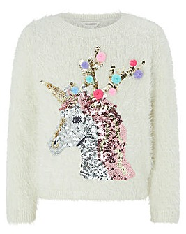 Monsoon Reign Unicorn Jumper