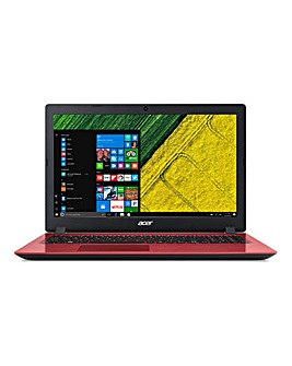 Acer 15.6in Aspire i3 128Gb Laptop Red