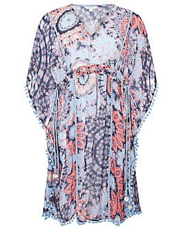 Monsoon Sierra Tie Dye Kaftan