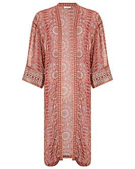 Monsoon Tilly Tile Print Kimono