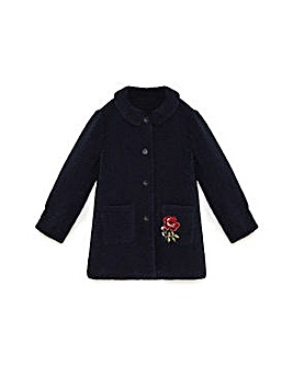 Yumi Girl Teddy Bear coat