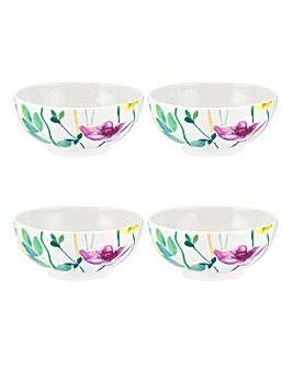 Portmeirion Water Garden Set of 4 Bowls