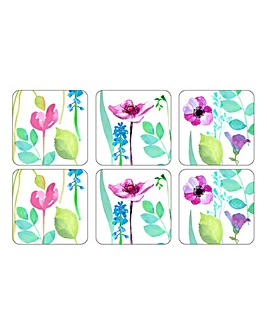 Portmeirion Water Garden 6 Coasters