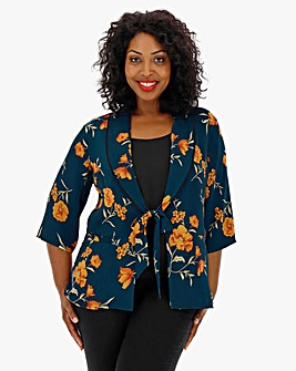 Lovedrobe Printed Soft Jacket