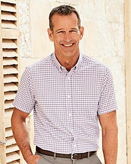Premier Man Short Sleeve Check Shirt