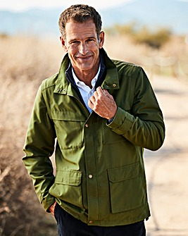 Premier Man Khaki Zip Off Sleeve Jacket