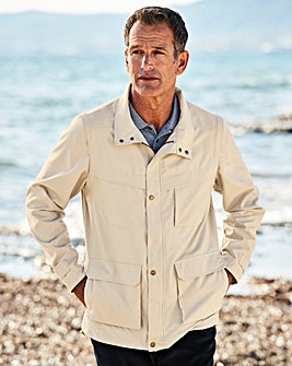 Premier Man Stone Zip Off Sleeve Jacket Regular