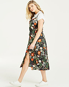 Lovedrobe Printed Midi Cami Dress