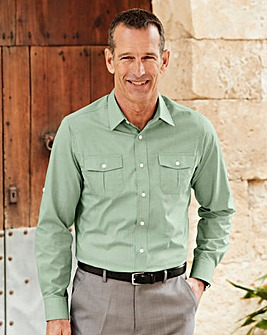 Premier Man Sage Long Sleeve Action Shirt Regular