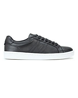 BOSS Leather Tennis Trainer