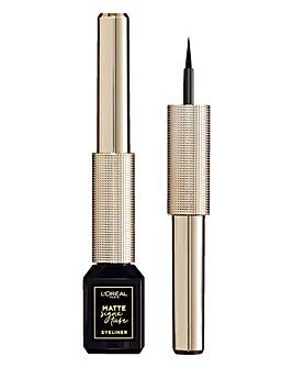 L'Oreal Matte Signature Liquid Eyeliner - Black