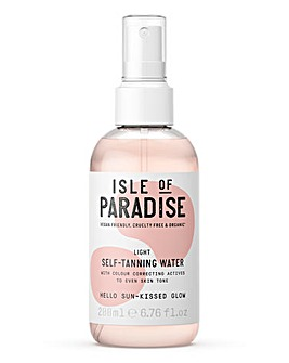Isle Of Paradise Self Tanning Water Light 200ml