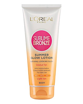 L'Oreal Sublime Bronze Summer Glow Light Gradual Tan 200ml