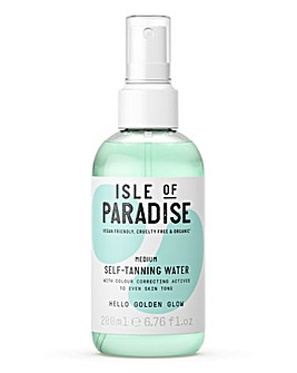 Isle Of Paradise Self Tanning Water Medium 200ml