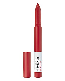 Maybelline Superstay Matte Ink Crayon Lipstick - 45 Hustle In Heels