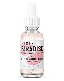 Isle Of Paradise Tanning Drops Light