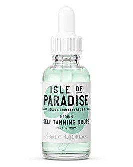 Isle Of Paradise Self Tanning Drops Medium 30ml