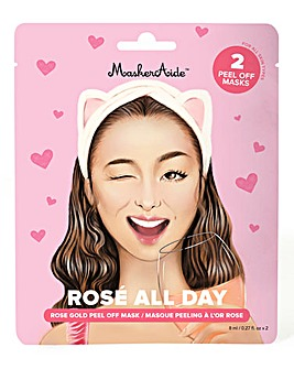 MaskerAide Rose All Day Peel-Off Mask