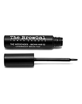 The BrowGal The Weekender Overnight Brow Tint - Brown Hair