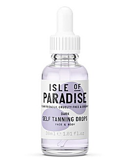 Isle Of Paradise Self Tanning Drops Dark 30ml