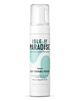 Isle Of Paradise Self Tanning Mousse Medium 200ml