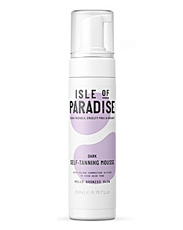 Isle Of Paradise Self Tanning Mousse Dark 200ml