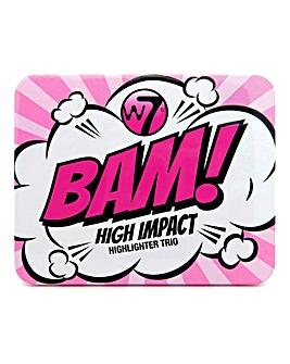 W7 Bam! Mini Highlighter Trio Set