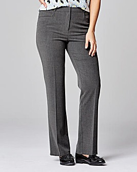 Tailored Straight Leg Trouser Long
