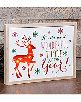 Most Wonderful Time of the Year Plaque