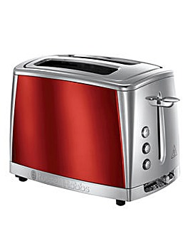 Russell Hobbs Luna Red 2 Slice Toaster
