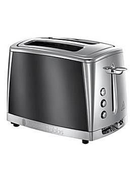 Russell Hobbs Luna Grey 2 Slice Toaster