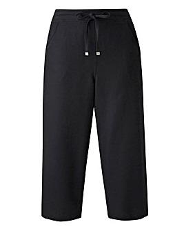 Petite Linen Mix Crop Trousers