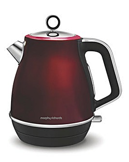 Morphy Richards Evoke Red Kettle
