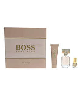 Hugo Boss The Scent for Her EDP Spray 30ml, Body Lotion & Nail Polish Gift Set