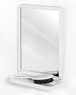 Suction Square Mirror