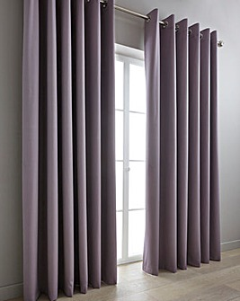 Eclipse Coated Blackout Eyelet Curtains